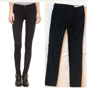 Denim - Rag and Bone Black Skinny Jean - size 30